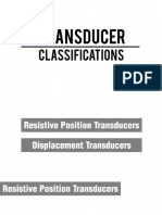 Transducer Classifications