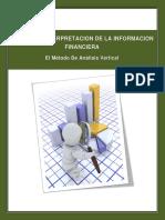 Unidad I. El Metodo de Analisis Vertical