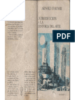 Hauser, Arnold - Introducción a La Historia Del Arte, Ed. Guadarrama, Madrid, 1969