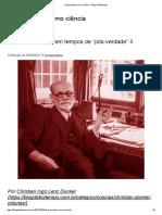A Psicanálise Como Ciência – Blog Da Boitempo