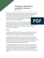 Declaran Patrimonio Cultural de La Nación Al Ayarachi de Cuyocuyo