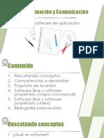 Software de Aplicación SW Libre y Prop