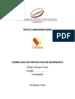 Libro Proyectos de Inversión II