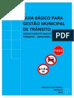Gestão Municipal do Trânsito - DENATRAN - 2017