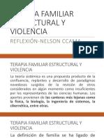Terapia Familiar Estructural y Violencia