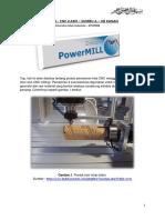 Tutorial Power Mill Cnc 4 Axis