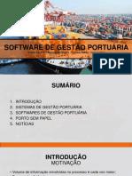 Software de Gestão Portuária
