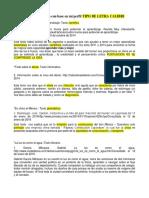OBSERVACIONES Selección de Texto Con Base en Mi Perfil