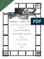 Análisis y Crítica de Cine