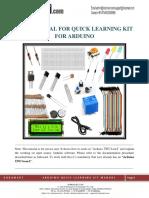 Quick Starter Kit Manual