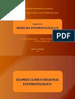 Clase 6 Examen Estomatológico Parte 1