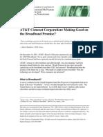 Broadband AT&T Comcast