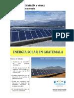 1. Energía Solar en Guatemala