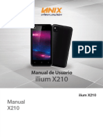 Manual de Usuario X210