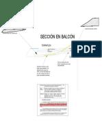 Sección Balcón