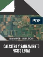 Brochure - Programa Catastro y Saneamiento Fisico Legal.pdf