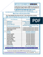 GMP Documents for Pharmaceutical Manufacturers