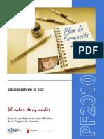 Educacion de La Voz