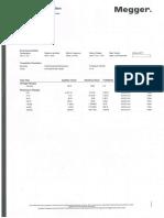 เอกสาร Certificate เครื่องมือ