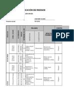 Evidencia 3 (de Producto) RAP2_EV02 - Matriz Para Identificación de Peligros - Cristian Tejada