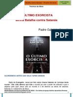 o Ultimo Exorcista