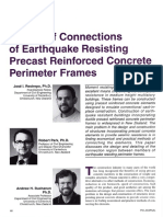 Design of connections or earthquake resisting precast reinforced concrete perimeter frames 1995.pdf