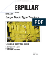 Manual Caterpillar Track Type Tractors Engine Control 3508 Components Operations Testing