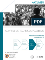 Adaptive Leadership - Workbook 3