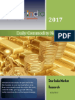 Dailly Commodity News Latter 26-6-2017