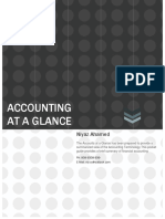 Accounting at a Glance