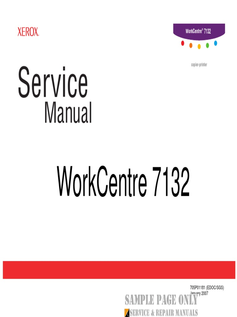xerox workcentre 7132 service manual download 1 rh scribd com Xerox WorkCentre 4250 7132 WorkCentre Fuser Kit Smart