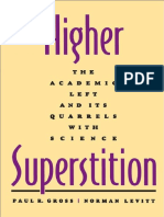 Higher Superstition - Gross & Levitt (1994)