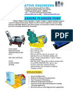 1.51 3 Piston Pump for High Pressure and Flow