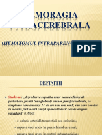 Hemoragia intracerebrala