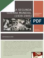 La Segunda Guerra Mundial - Presentación Tema
