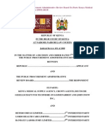 Case on Procurement