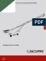 Screw Elevator - Akyurek Technology