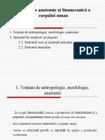 C2 Notiuni de Anatomie Si Biomecanica a Corpului Uman