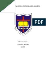 Tugas Wawancara Pengurus Rt Dan Rw Eliza