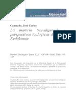 La Materia Transfigurada Pavel Evdokimov