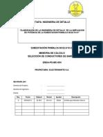 ENSA-PO-MC-005 Seleccion de Cadenas de Aisladores Rev A