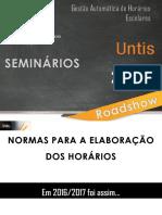 Normas Horários 2017/ 2018