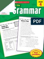 Scholastic Success With Grammar Grade 4