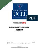 37 - Derecho Internacional Publico 2017 (Plan 2012)