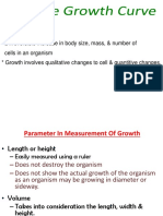 BioF5-4.7 the Growth Curve
