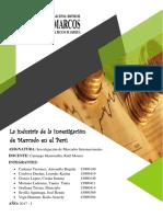 La Industria de La Investigación de Mercado en El Perú ..
