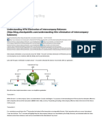 Understanding HFM Elimination of Intercompany Balances