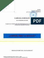 2016 12 22 Campanie Judeteana Atentie Trec La Scoala