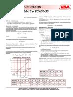 Trocadores de Calor TCA3015-5030