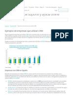 Ejemplos de Empresas Que Utilizan CRM - Mundo CRM